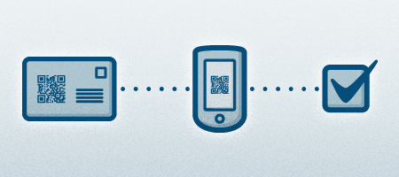 Direct mail and mobile icons
